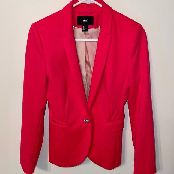 H&M Jacket Beautiful Fuchsia size 6